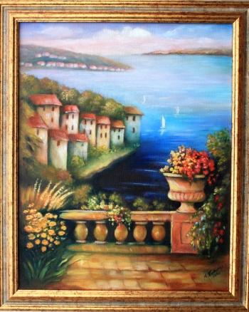 Mediterrane Gemälde kunstmalerei m zacharias kunst malerei galerie landschaften